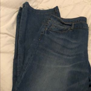 Gap Jeans- long and lean. Size 18/34. Like new.